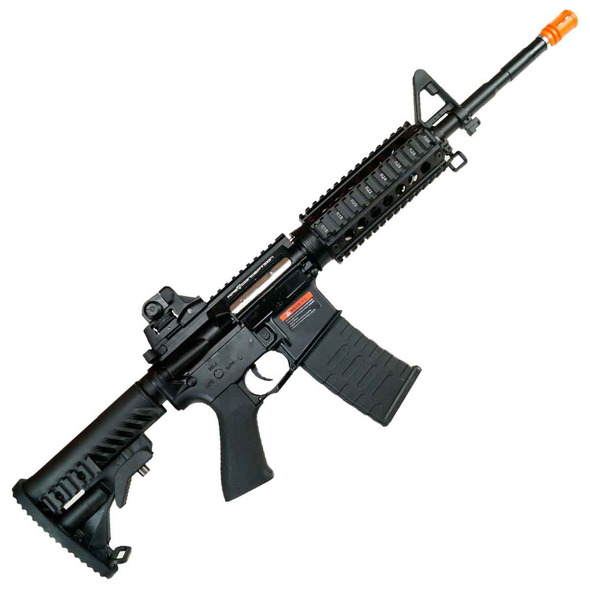 Rifle Airsoft APS M4 ASR104 Full Metal BlowBack Elétr Bivolt