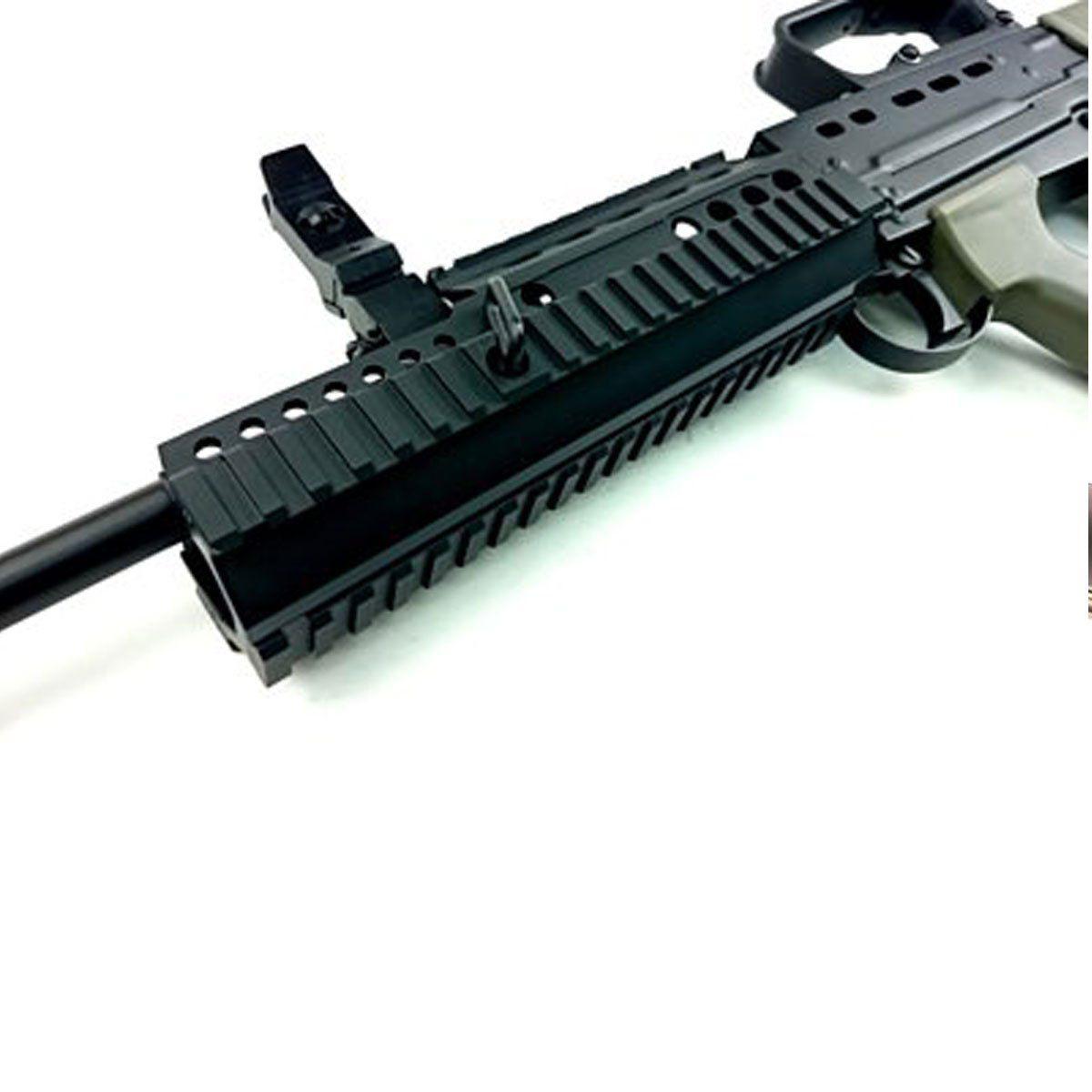 Rifle Airsoft Army Armament R85A2 L85 RIS Full Metal EBB Elétrico