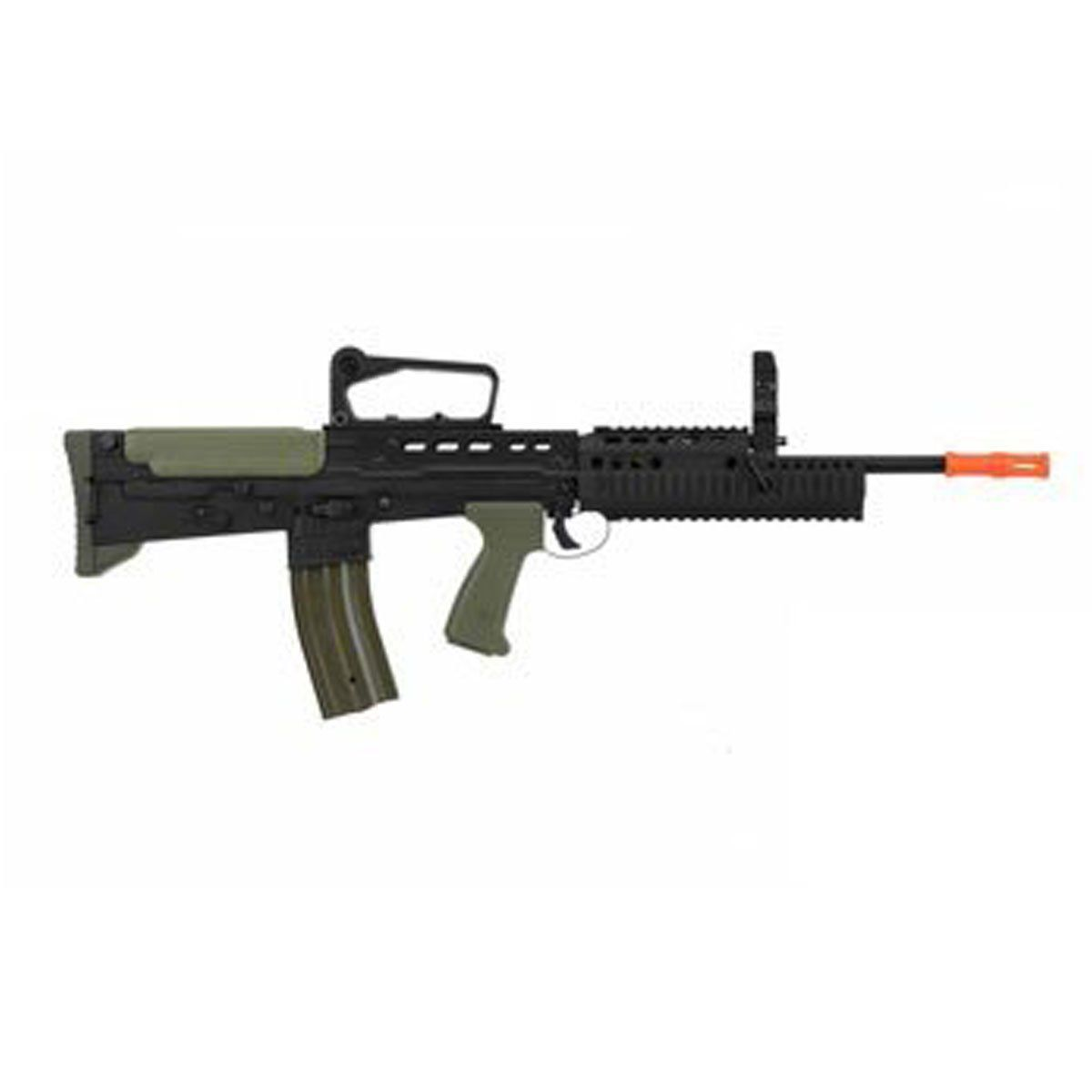 Rifle Airsoft Army Armament R85A2 L85 RIS Full Metal EBB Elétrico