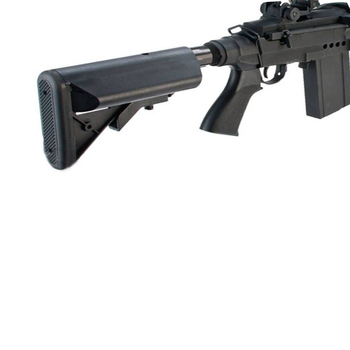 Rifle Airsoft Cyma M14 EBR Full Metal EBB Elétrico Bivolt 6mm