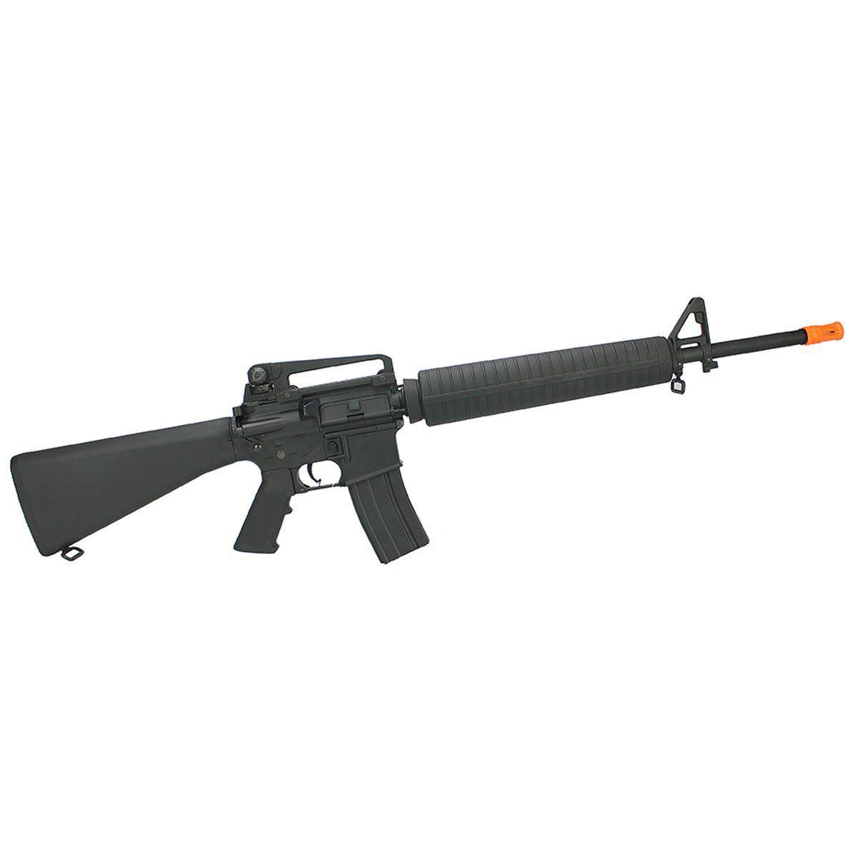 Rifle Airsoft Cyma M16A4 CM009 Full Metal Elétrico Bivolt 6mm