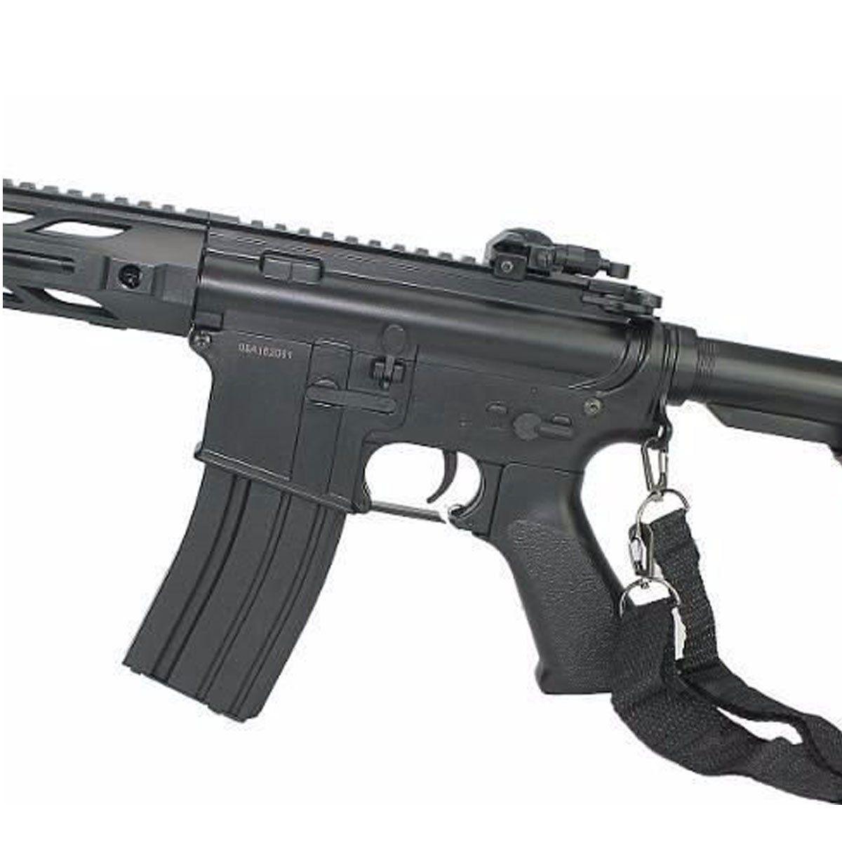Rifle Airsoft Cyma M4A1 CM518 Keymod Elétrico Bivolt 6mm