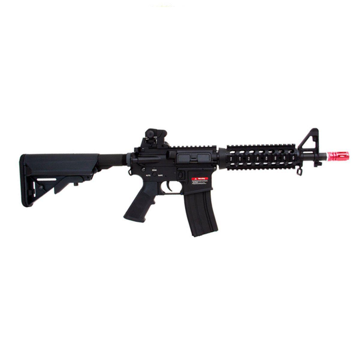 Rifle Airsoft Evo M4A1 CQB 302 Full Metal Elétrico