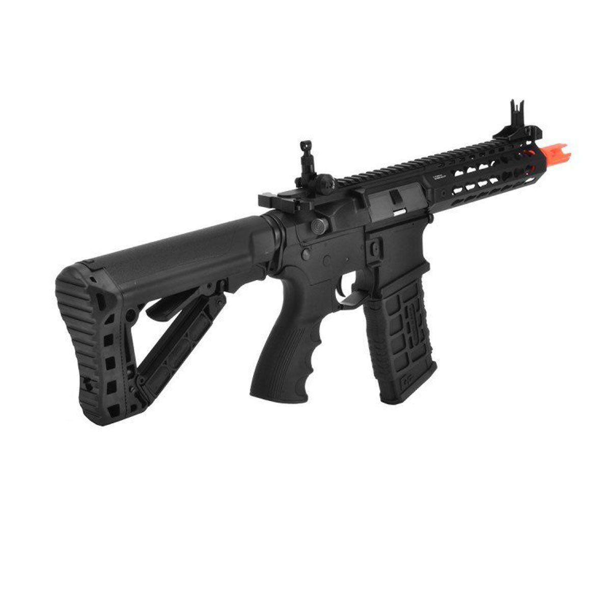 Rifle de Airsoft G&G M4 CM16 SRS Elétrico Bivolt 6mm
