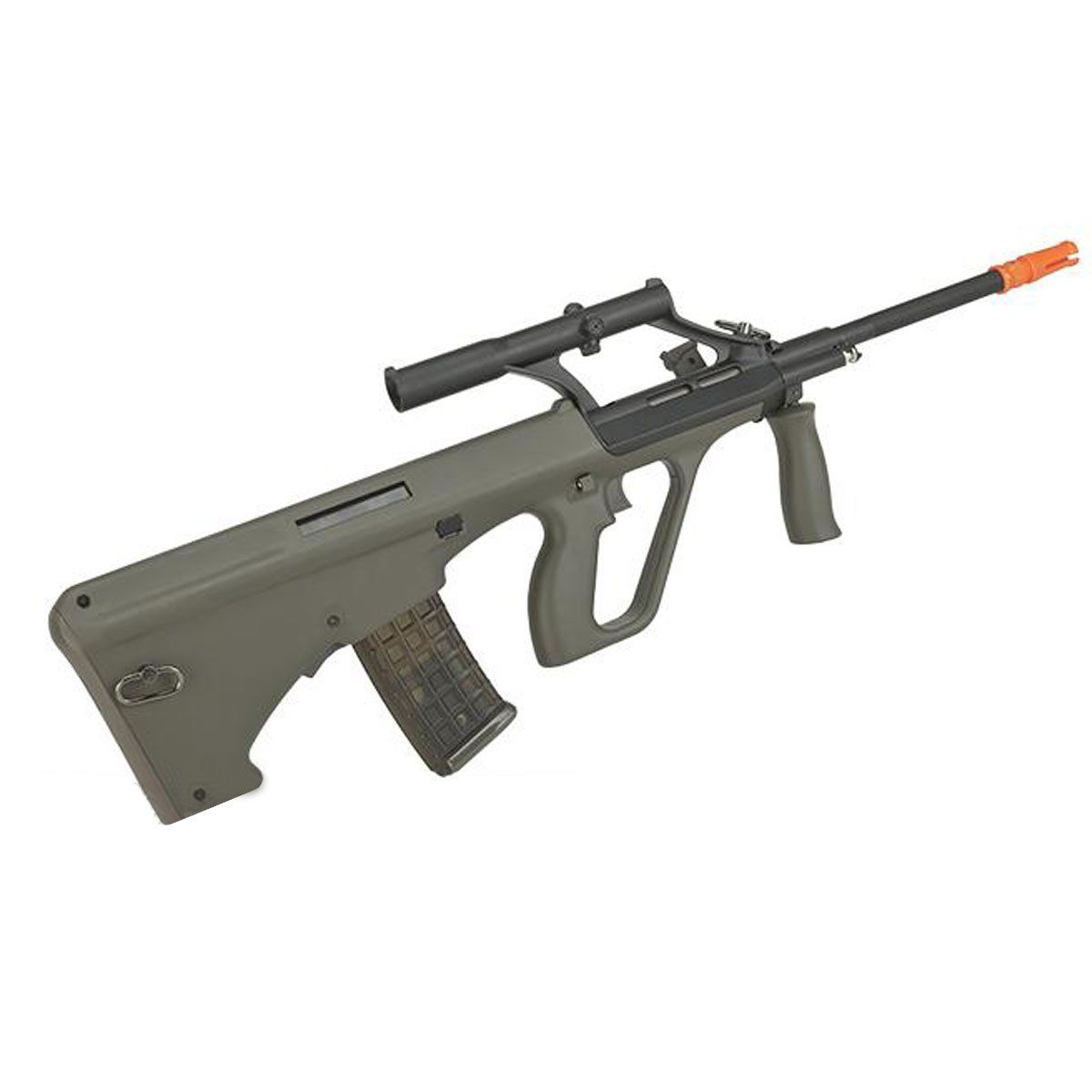 Rifle Airsoft JG Works Steyr Aug AU-2G Semi Metal Elétrico 6mm