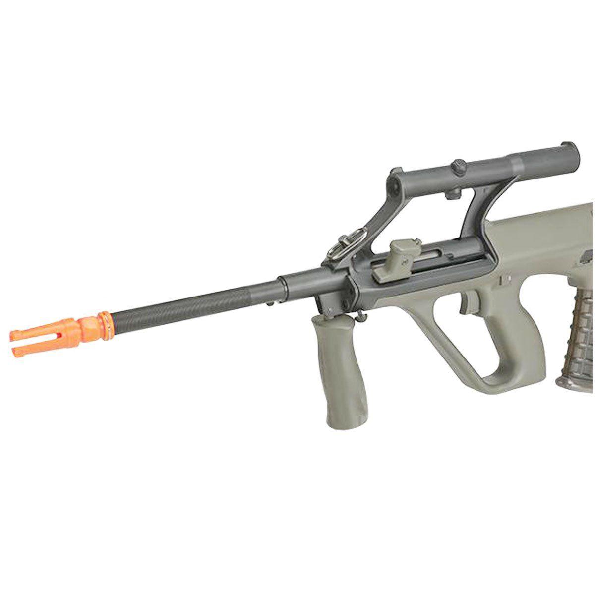 Rifle Airsoft JG Works Steyr Aug AU-2G Semi Metal Elétrico 6mm