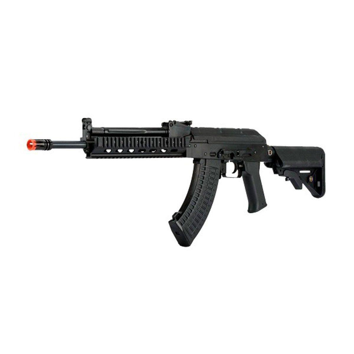 Rifle Airsoft LCT TX-MIG AK47 Full Metal Elétrico 6mm