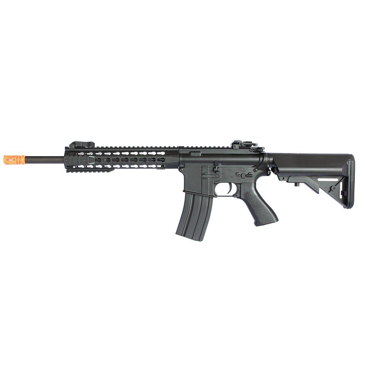 Rifle Airsoft M4A1 CM515 Preta Calibre 6mm Elétrica