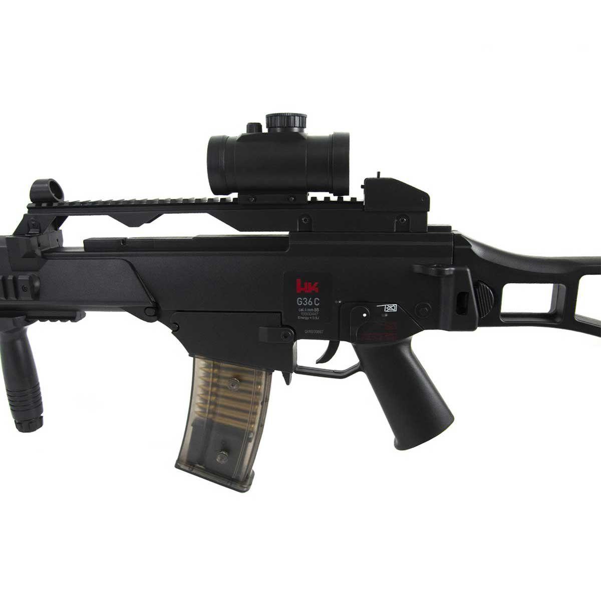 Rifle de Airsoft Heckler & Koch Umarex G36C Elétrico 6mm