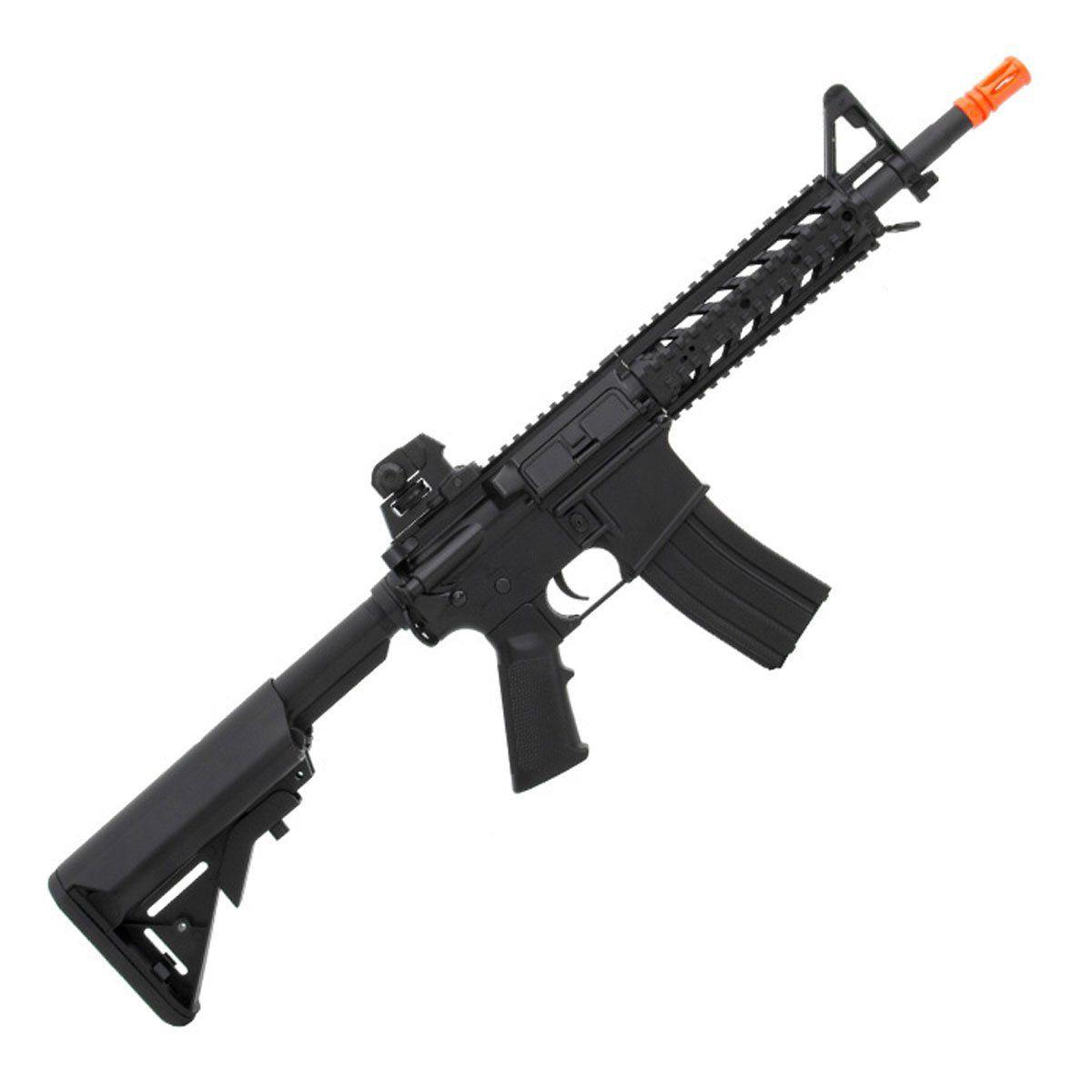 Rifle de Airsoft Cyma M4A1 CM517 Elétrico Bivolt Black