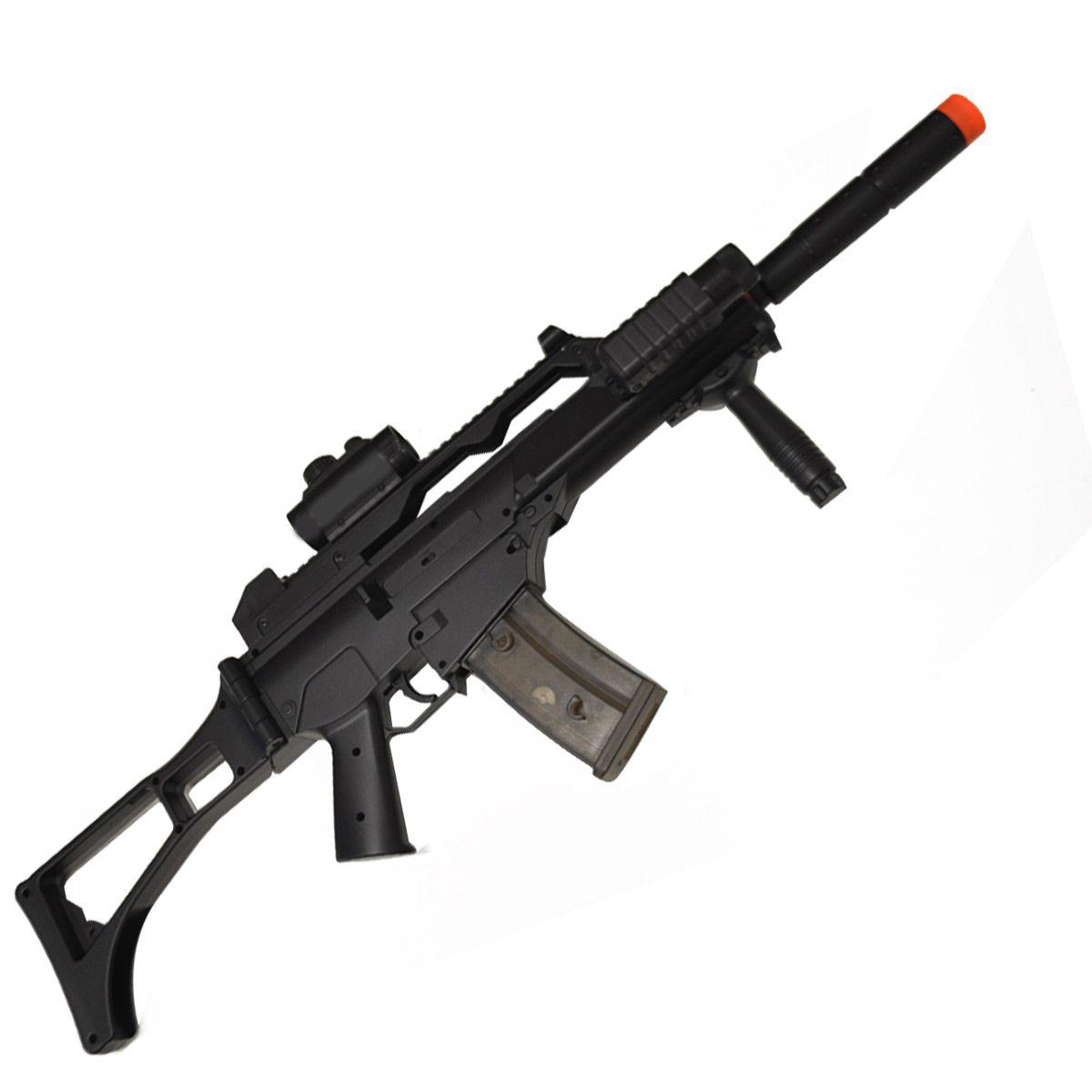 Rifle de Airsoft Cyma G36 CM021 Polímero Elétrica 6mm