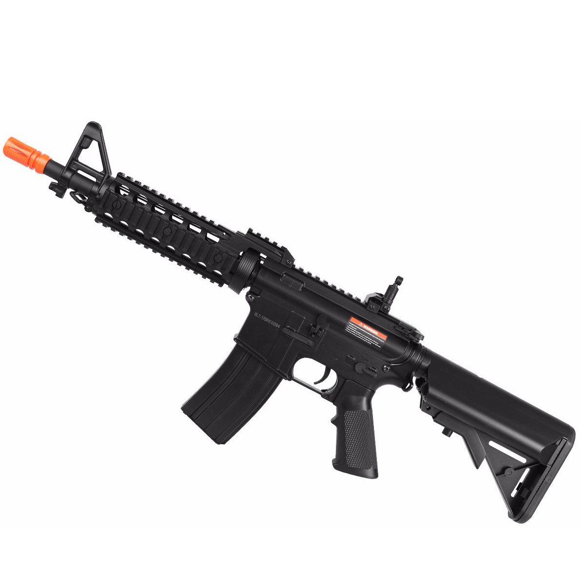 Rifle de Airsoft Cyma M4 CM505 Polimero Eletrico Bivolt - 6mm