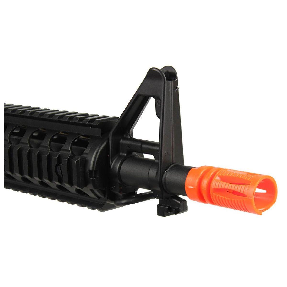 Rifle de Airsoft Cyma M4 CM505 Polímero Elétrico Bivolt 6mm