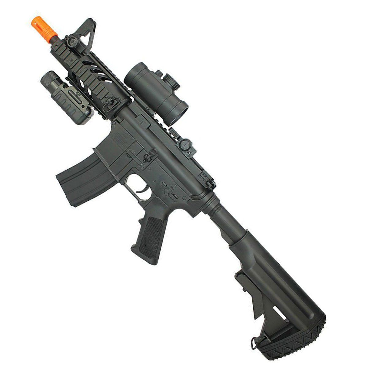 Rifle de Airsoft Double Eagle M4 CQB M805A Elétrico Bivolt 6mm