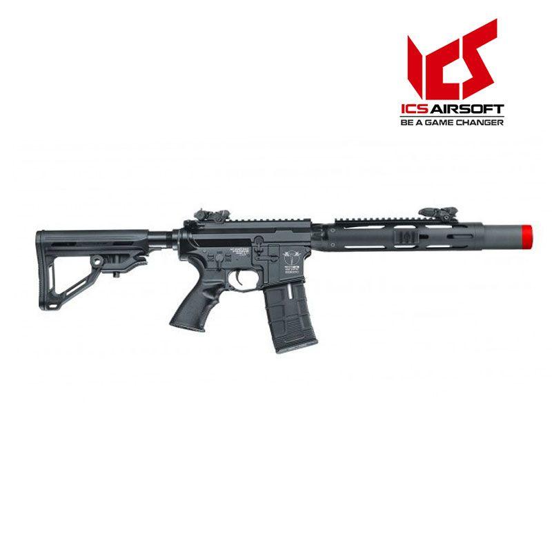 Rifle de Airsoft ICS CXP-HOG SD MTR ICS-380 elétrica 6mm