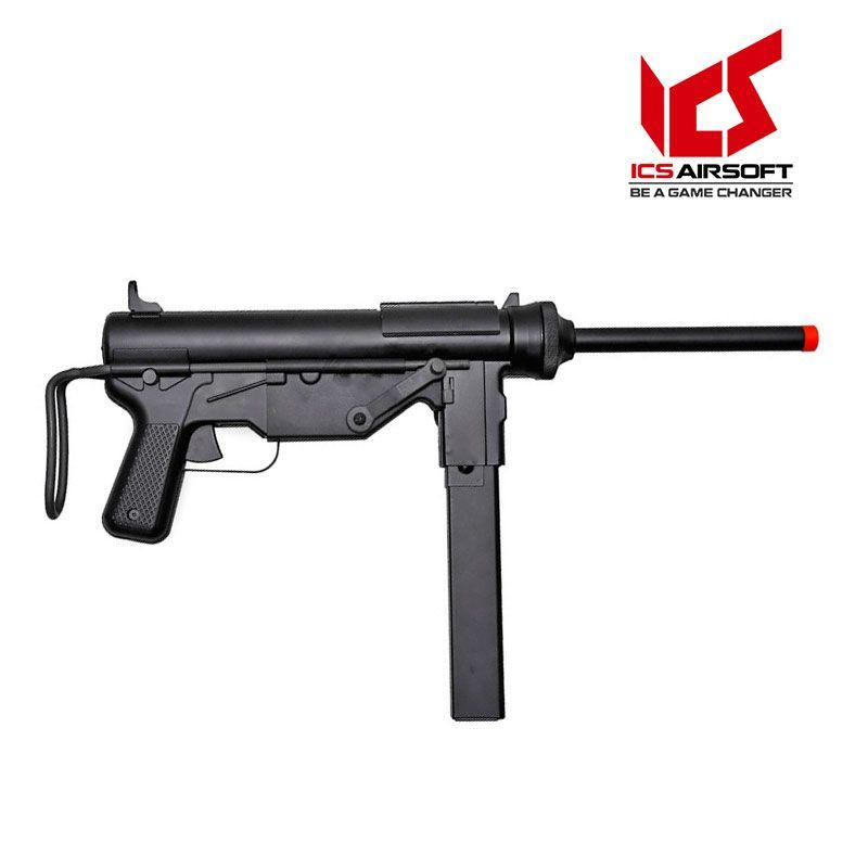 Rifle de Airsoft ICS M3 Submetralhadora ICS-200 elétrica 6mm