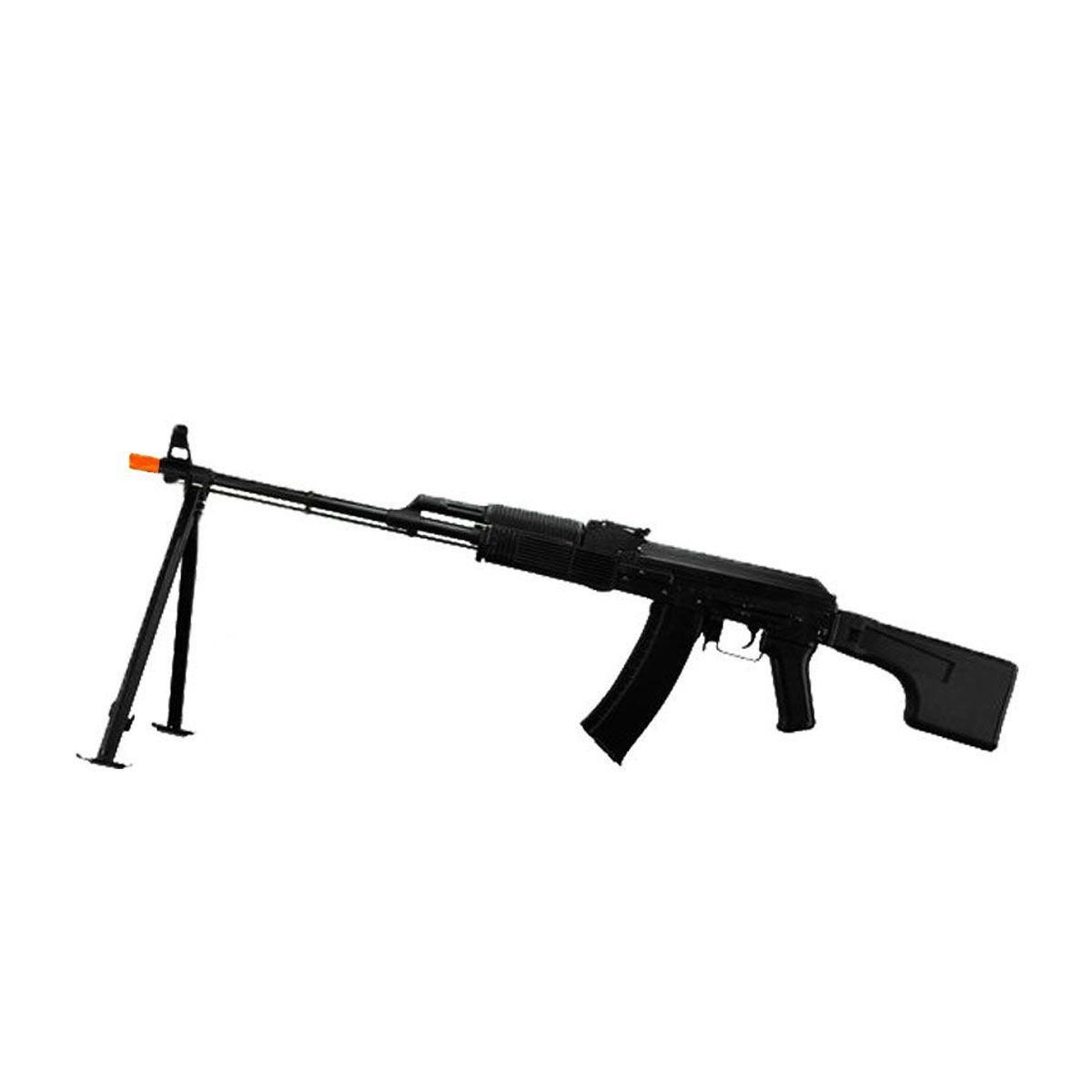 Rifle de Airsoft elétrica RPK74MN + Bipé
