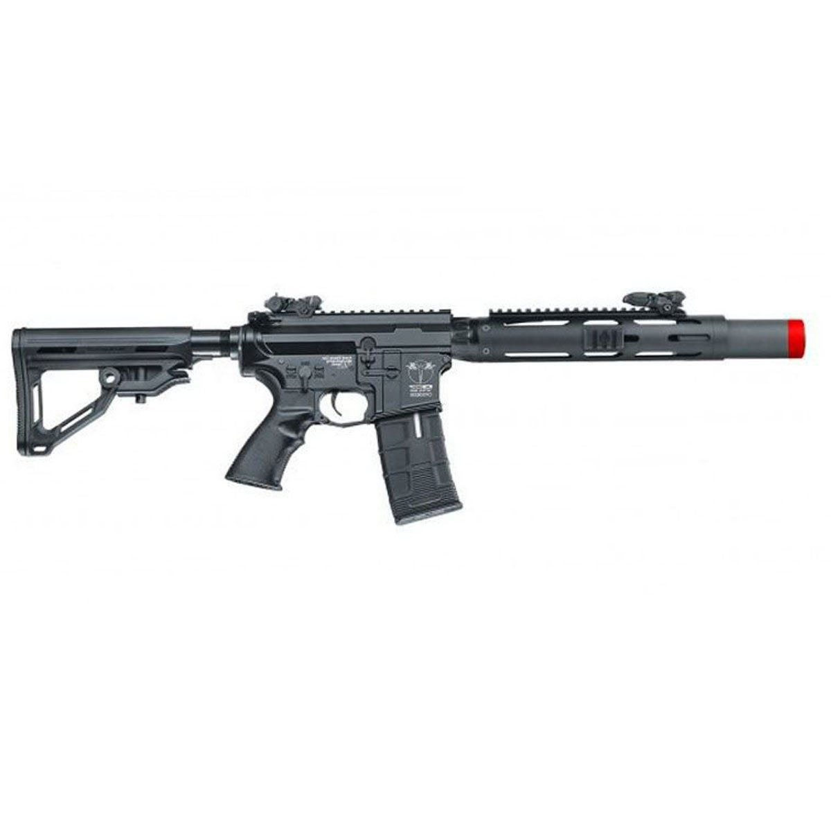 Rifle de Airsoft ICS CXP-HOG SD MTR ICS-380 eletrica 6mm