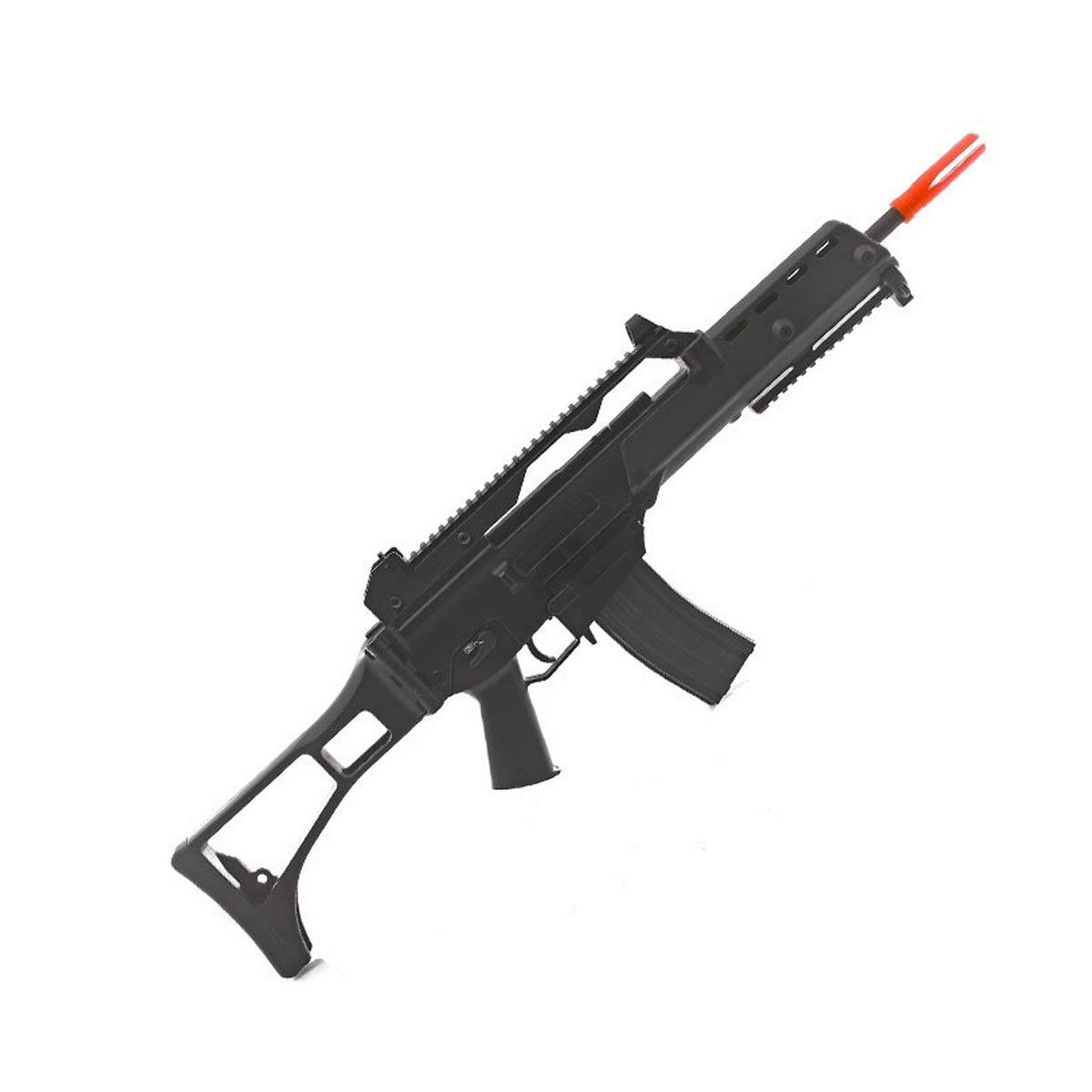 Rifle de Airsoft JG G36K G608-2 Elétrico 6mm + Kit M4 MAG