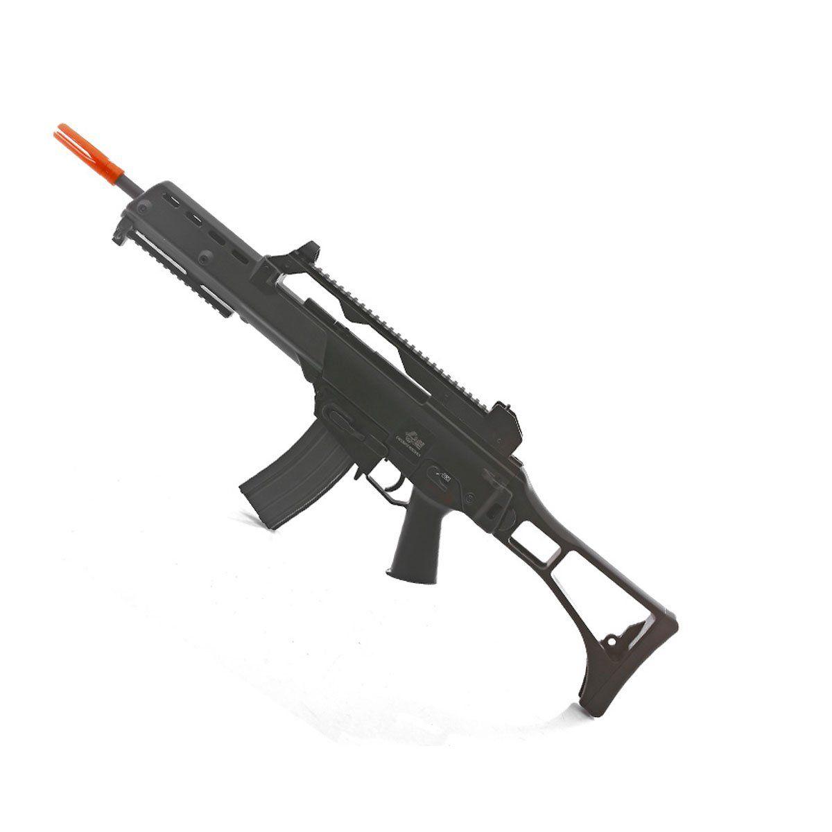 Rifle de Airsoft JG G36K G608-2 Elétrico 6mm + Kit M4 MAG