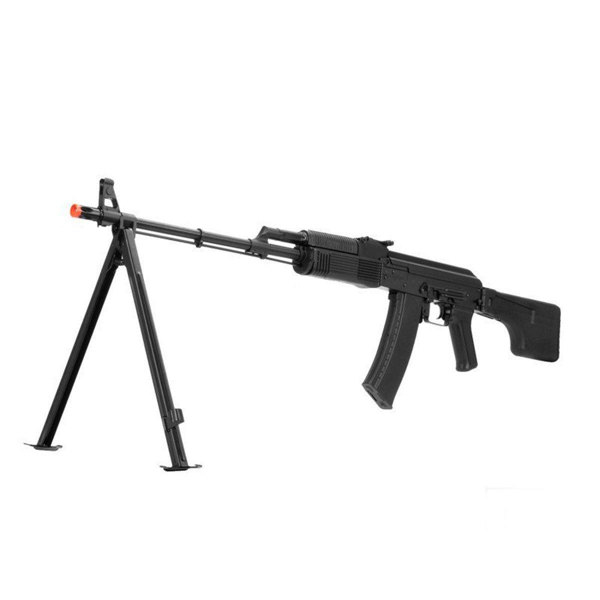 Rifle de Airsoft LCT RPK74MN + Bipé elétrica 6mm