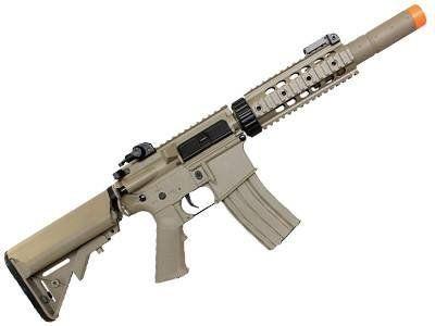 Rifle de Airsoft M4a1 Cyma CM513 RIS c/ silenciador Elet Cal.6MM TAN