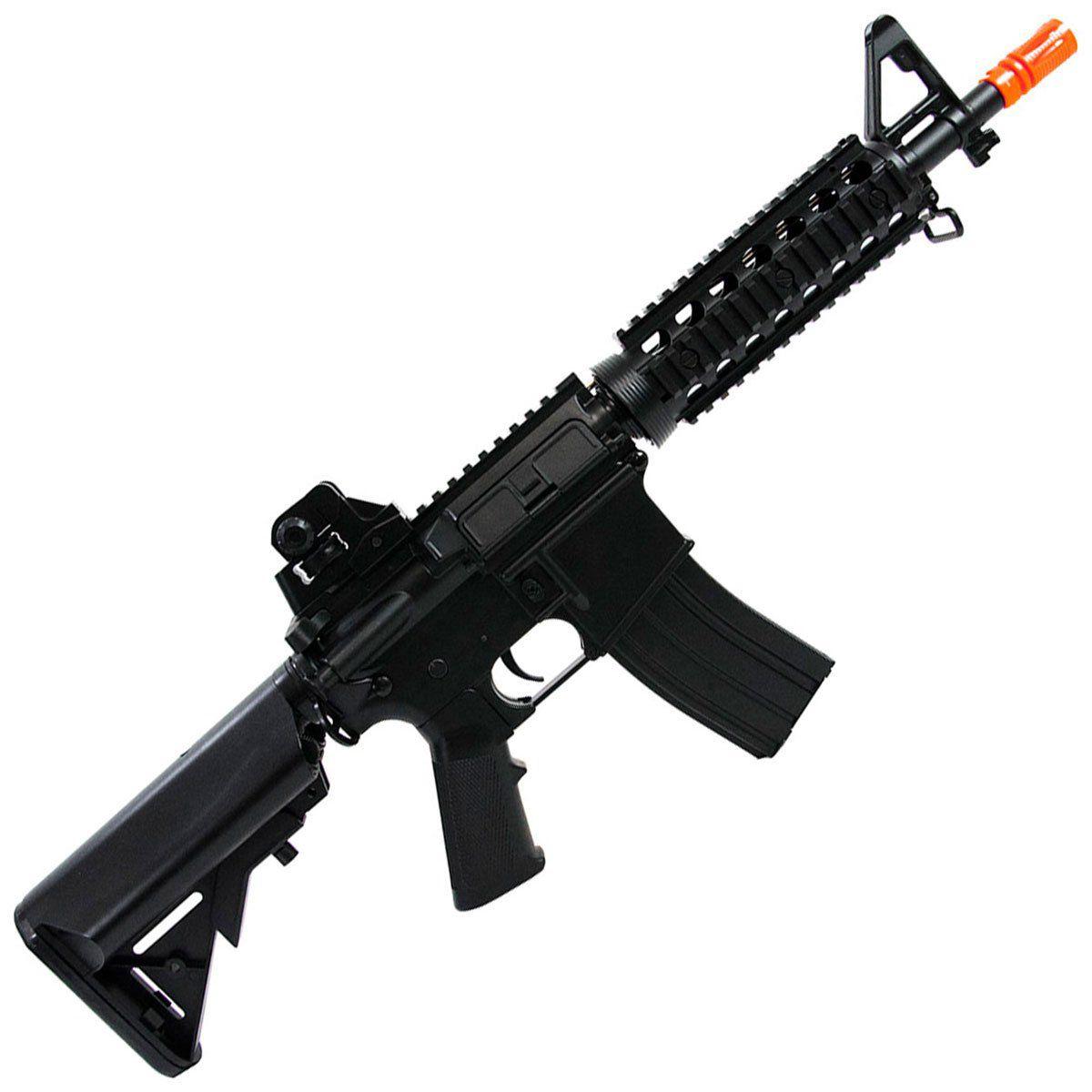 Rifle de Airsoft Cyma M4A1 Ris CM506 Elétrico Bivolt 6mm