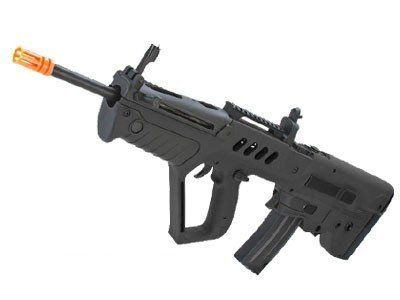 Rifle de Airsoft  S&T Tavor T-21 Preta Cal 6,00mm