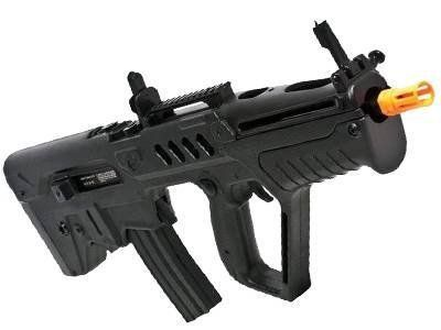 Rifle de Airsoft S&T Tavor T-21 Preta Cal 6,00mm CQB