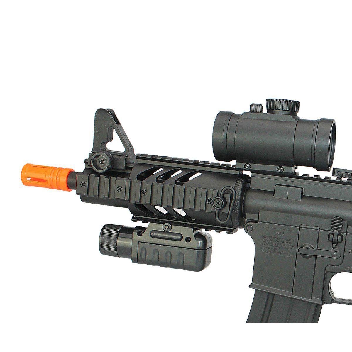 Rifle de Airsoft Double Eagle M4 CQB M805A Elétrico Bivolt 6mm