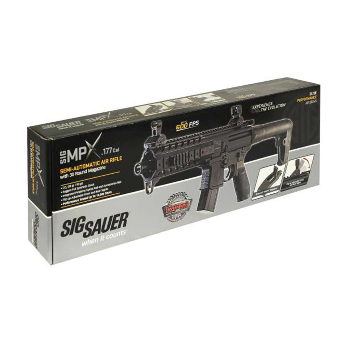 Rifle de Pressão CO2 Sig Sauer MPX Full Metal 4.5mm