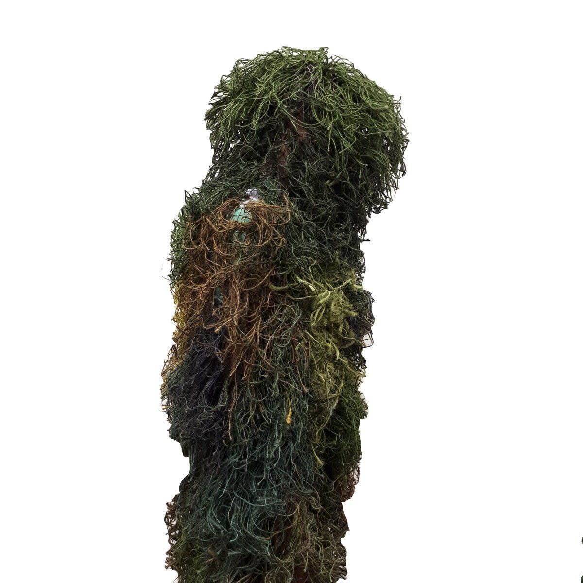 Traje Camuflagem Sniper Ghillie Suit Implastec Verde