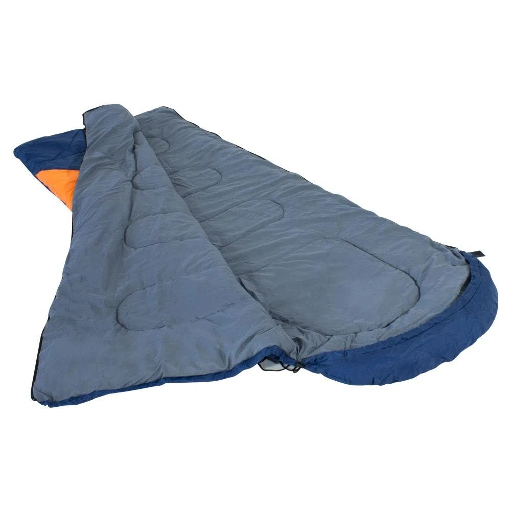 Saco de Dormir Nautika -1,5ºC à -3,5º Azul e Laranja