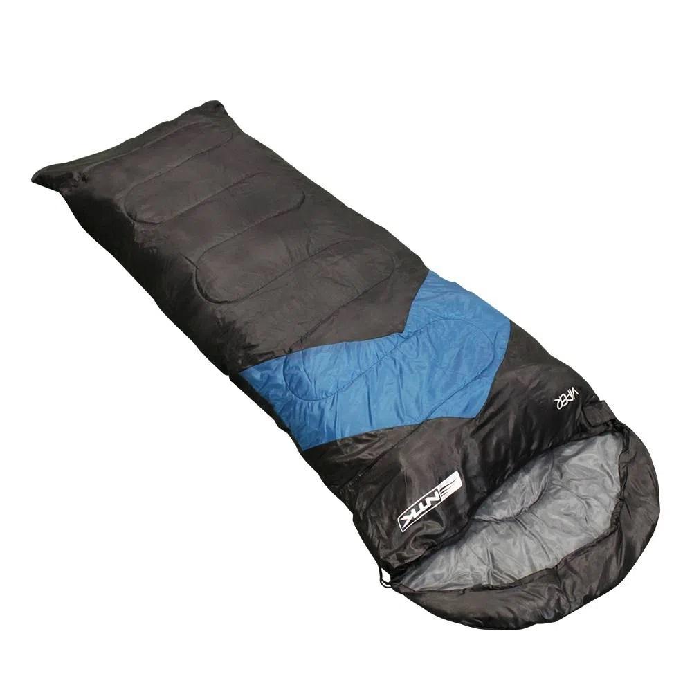 Saco de Dormir Nautika 5°C à 12°C - Azul e Preto