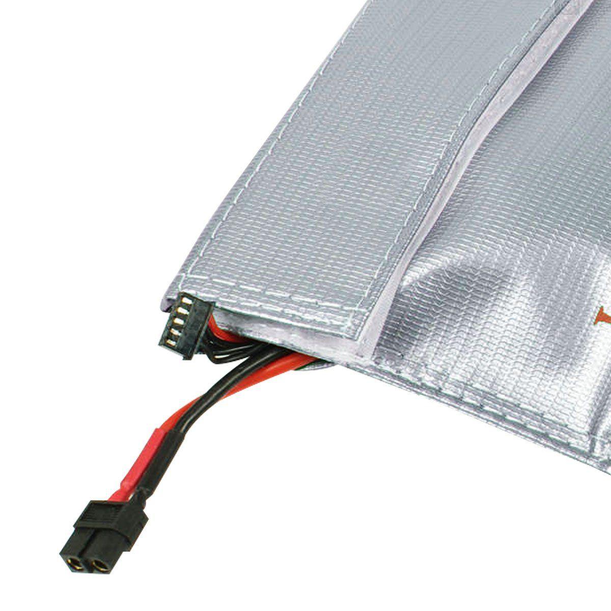 Saco de Proteção para Bateria Lipo Guard Safe Bag Anti-Chamas