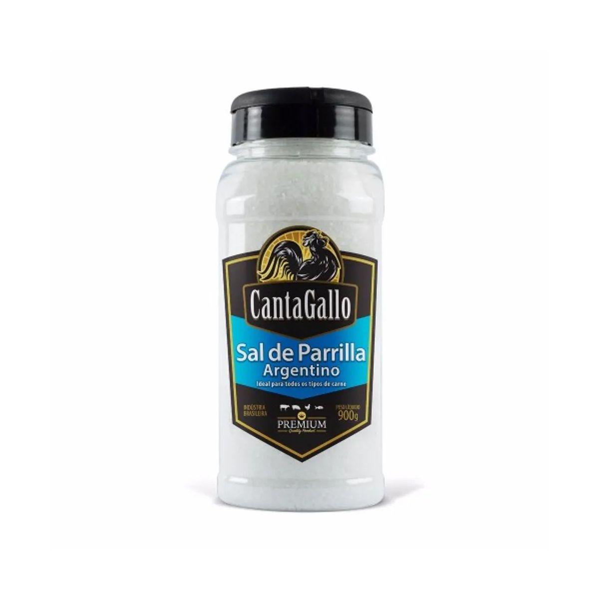 Sal de Parrilla Argentino Cantagallo Premium 900g