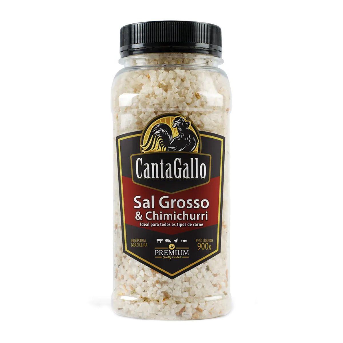Sal Grosso e Chimichurri Cantagallo Premium 900g