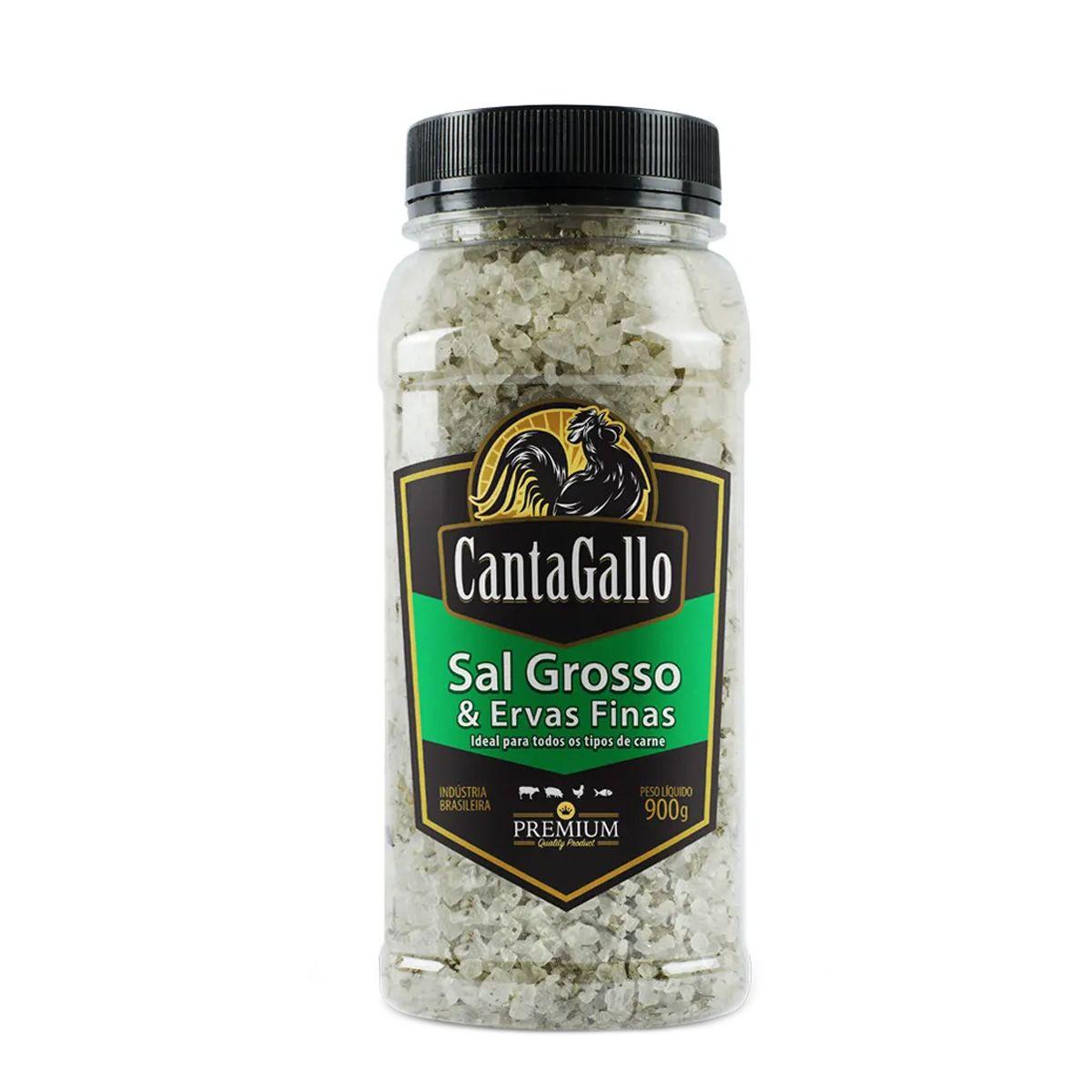 Sal Grosso e Ervas Finas Cantagallo Premium 900g