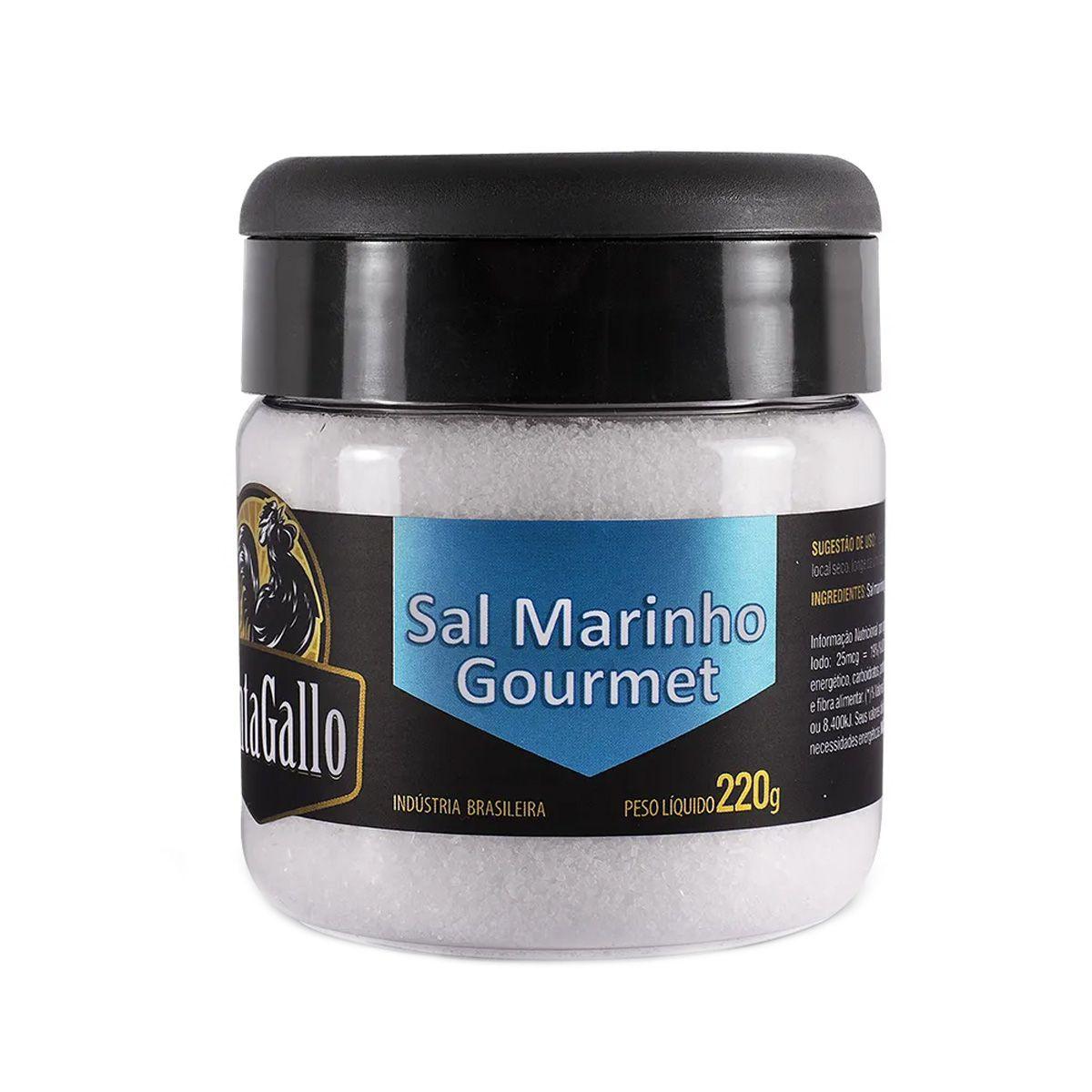 Sal Marinho CantaGallo Gourmet 220g