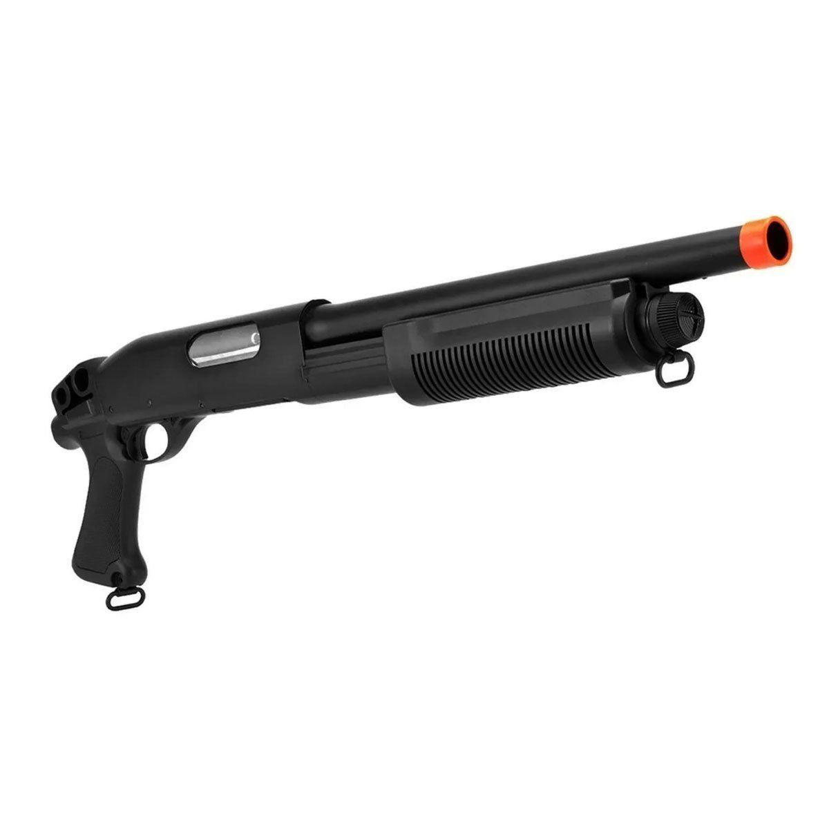 Shotgun Airsoft CYMA M870 CM351 Sem Coronha Spring 6mm