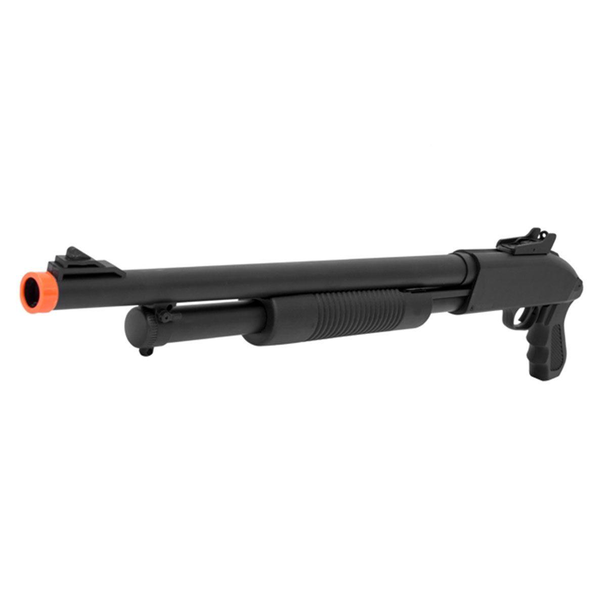 Shotgun Airsoft Cyma ZM61 Polímero Spring 6mm