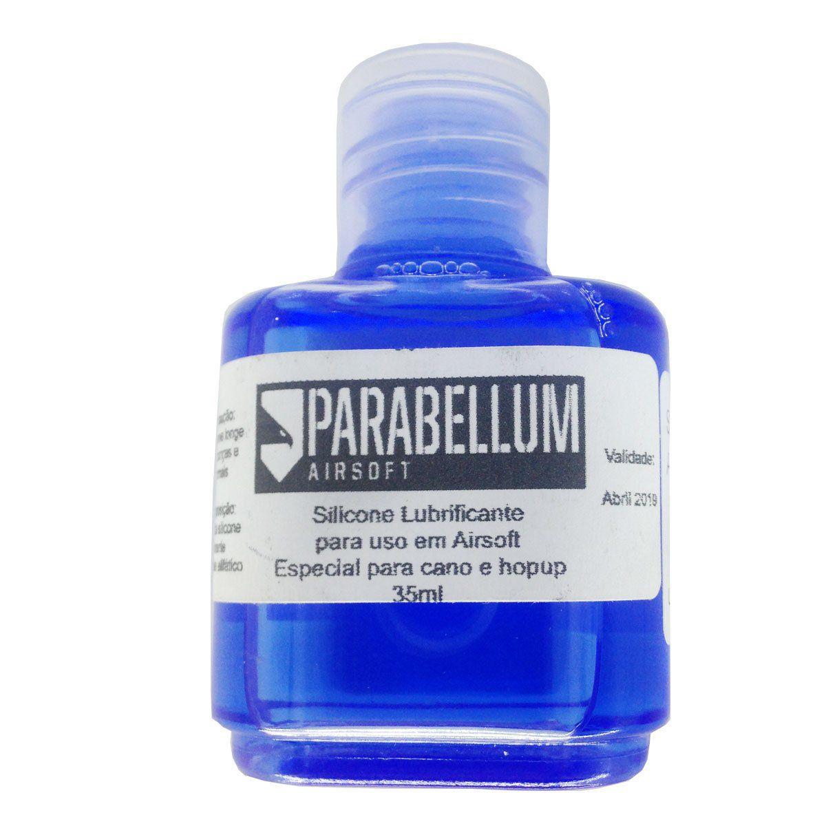 Silicone Lubrificante Para Airsoft 35ml Parabellum
