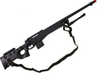 Sniper Airsoft AWP MB4403B Bolt coronha rebativel Well