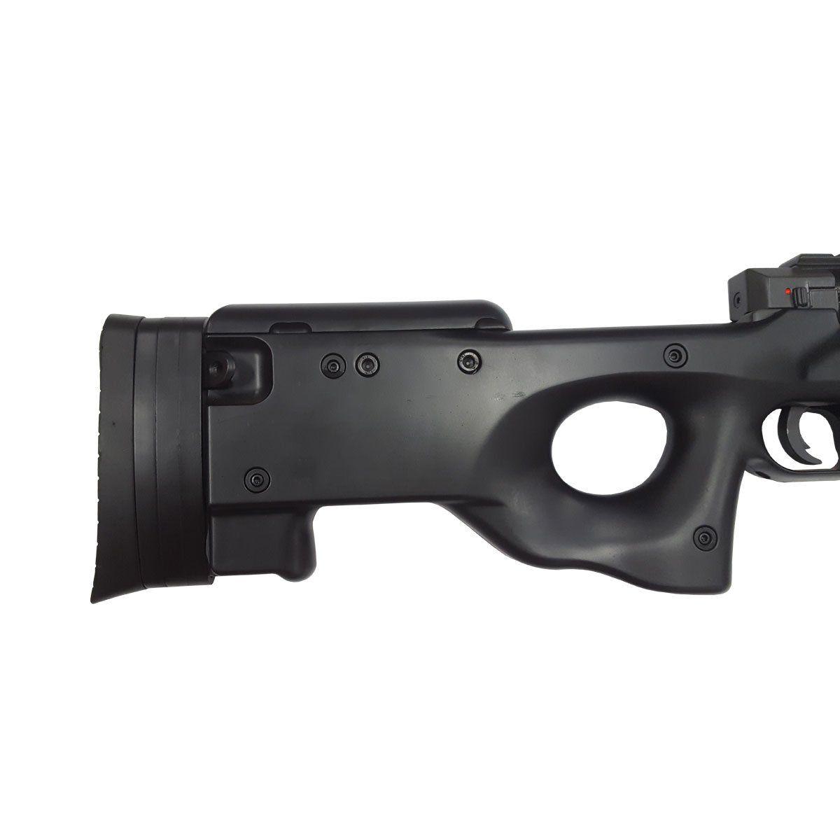 Sniper de Airsoft Well L96 AWP MB01 Bolt Action Spring 6mm