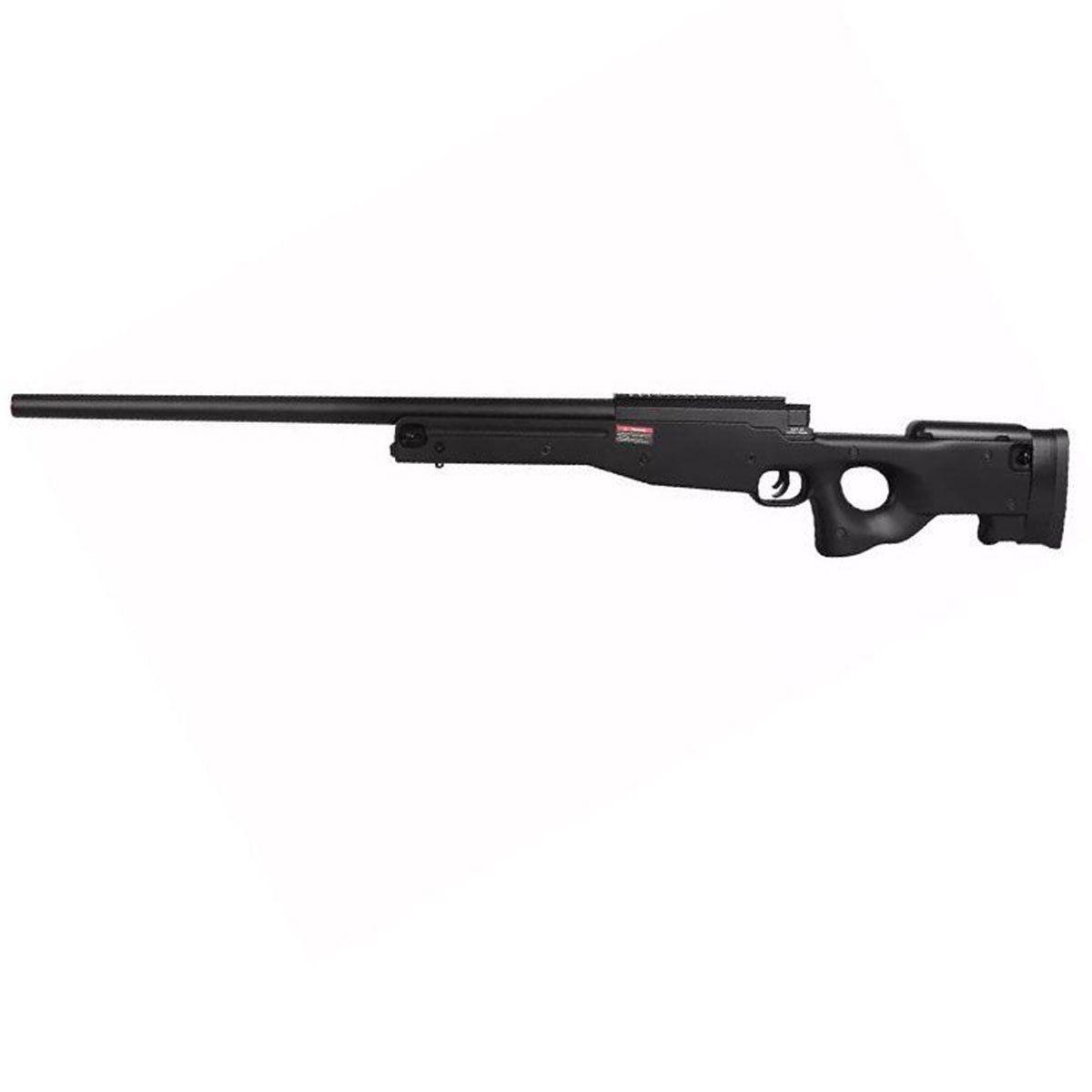 Sniper de Airsoft L96 AWS Bolt Action Evo Spring Preto