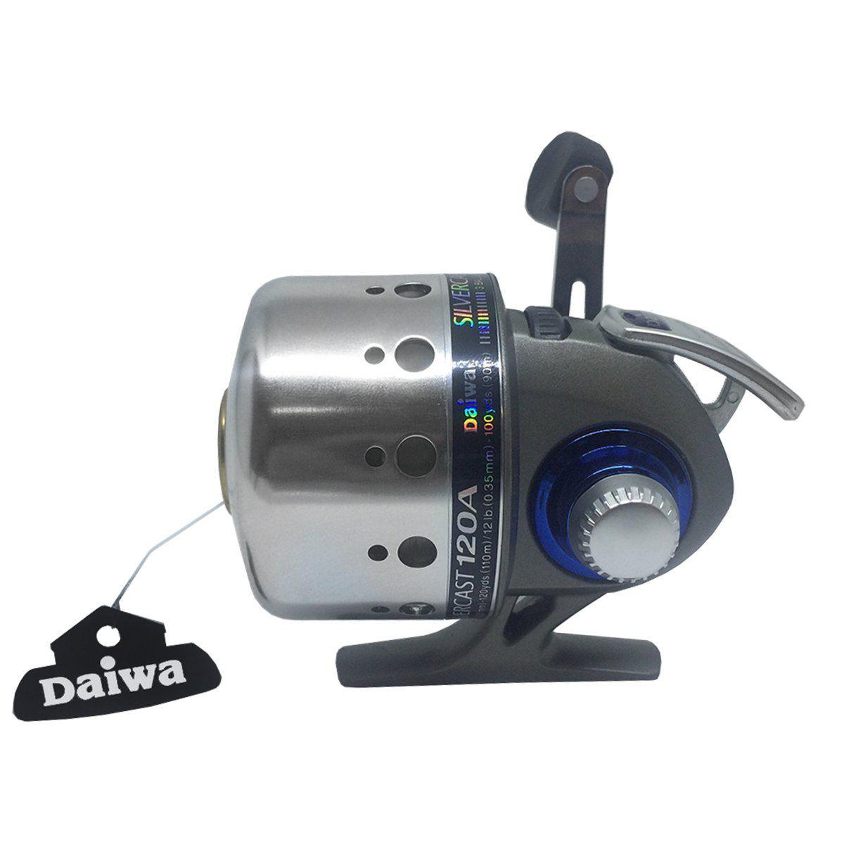 Spincast Daiwa Silvercast 120A 3 Rolamentos