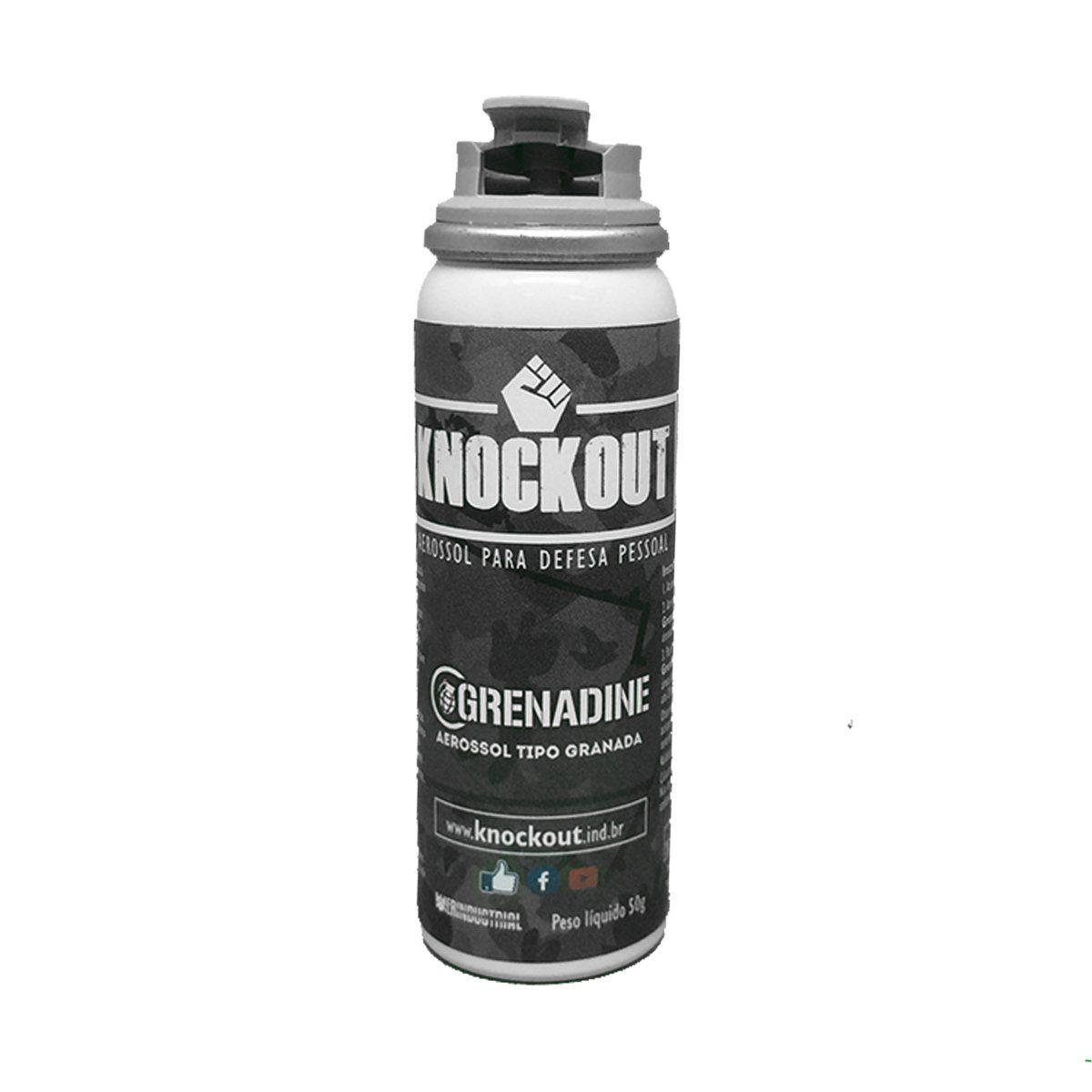 Spray de Defesa Pessoal Knockout Grenadine 50g