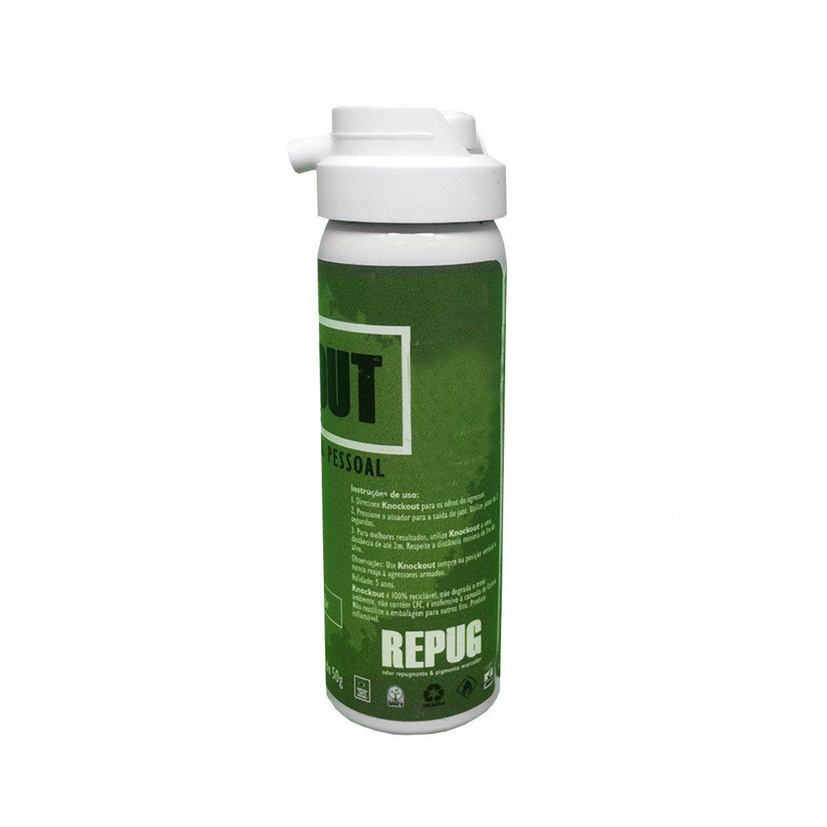 Spray de Defesa Pessoal Knockout Repug 50g