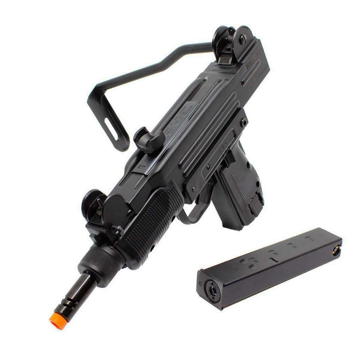 Submetralhadora de Airsoft KWC Mini Uzi Metal CO2 Calibre 6mm