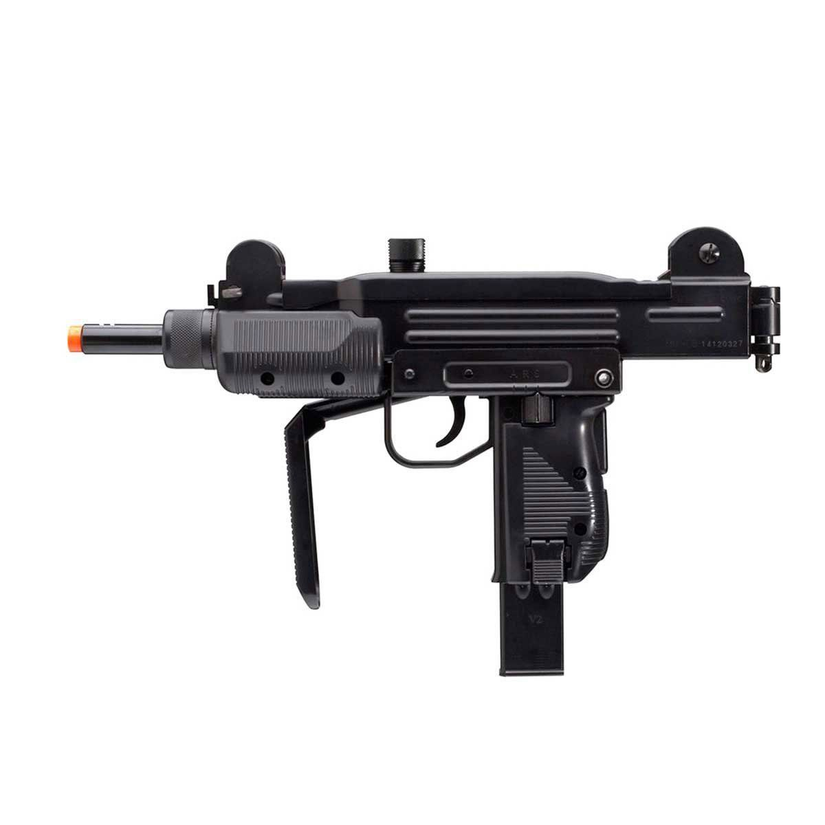 Submetralhadora de Airsoft KWC Mini Uzi Metal CO2 6mm